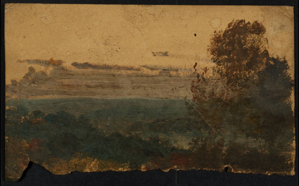 An Evening Scene ?circa 1815 by Joseph Mallord William Turner 1775-1851