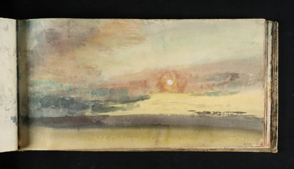 Study of Sky circa 1816-18 by Joseph Mallord William Turner 1775-1851